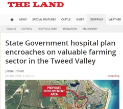 the land news