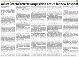 PAN notice of acquisition